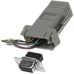 Modular Adapters (DB9, DB25 to RJ11/12, RJ45)