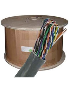1000ft Cat5e 25 Pair UTP Cable 24AWG CMR