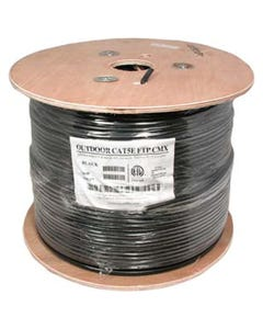 1000ft Cat5E Outdoor Direct Burial Shielded Wire