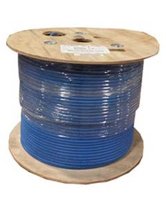1000ft Cat6A 10G UTP Solid Wire Plenum CMP