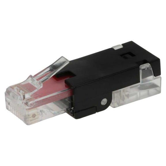 rj45 cat 6 utp toolless plug