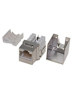 Cat 6 RJ45 STP 110 Type Shielded Keystone Jack