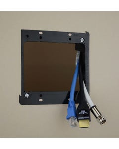 2-Gang Low Voltage Mounting Bracket For Cable Plate