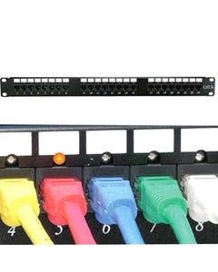 48 Port Cat6 110 Patch Panel Rackmount w/LED Indicator