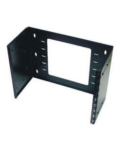 "8U Hinged Extendable Wall Mount Bracket, Max 13.5"" Depth"