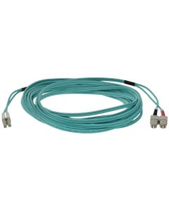 LC-SC 10Gb 50/125 LOMMF OM3 M/M Duplex Fiber Optic Cable