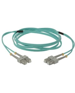 SC-SC 10Gb 50/125 LOMMF M/M Duplex Fiber Optic Cable