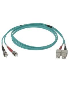 SC-ST 10Gb 50/125 LOMMF M/M Duplex Fiber Optic Cable