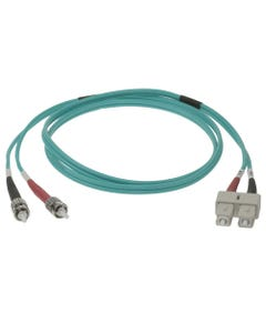 SC-ST 10Gb 50/125 LOMMF M/M Duplex Fiber Optic Cable