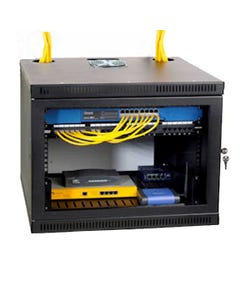 8U Security Wall Rack Enclosure