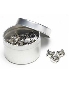 10-32 cage Nuts Tin Can (50pc)