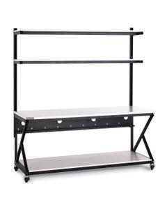 "72"" Performance Work Bench W/Full Bottom Shelf"
