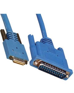 10ft HP26 Male  to DB25 Male Cable (Cisco CAB-SS-232MT)