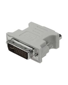 DVI-I Dual Link-M (24+5) to DB15HD-F DVI Adapter