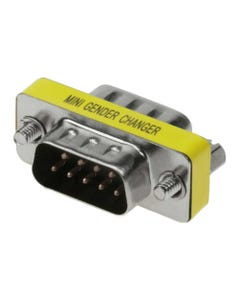DB9 M/M  Mini Gender Changer (Coupler)