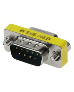 DB9 M/F  Mini Gender Changer (Coupler)