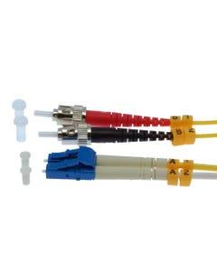 LC-ST Duplex Singlemode 9/125 Fiber Optic Cable