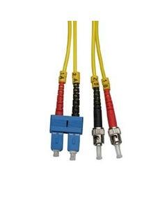ST-SC Singlemode Duplex 9/125 Fiber Optic Cable