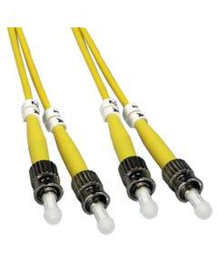 ST-ST Singlemode Duplex 9/125 Fiber Optic Cable