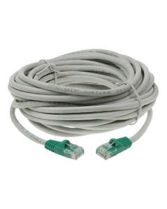 50ft Cat5E Crossover UTP Ethernet Network Cable - Gray-Green