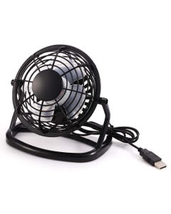 "USB Desktop 4"" Mni Fan Model 810 Black"