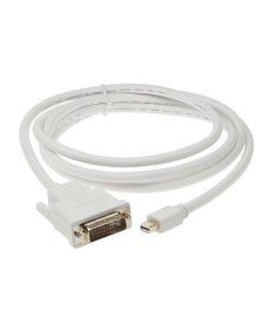 Mini DP Male to DVI Male Cable