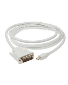 6ft Mini DP Male to DVI Male Cable