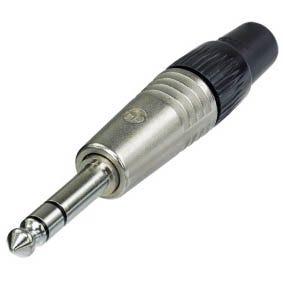 "Neutrik 1/4"" Professional Stereo Plug NP3C"