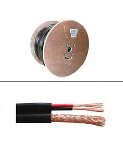 1000ft RG59 w/2x18AWG Power Cable CMR