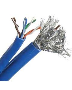 500ft Cat5e + RG6 Quad Siamese Cable