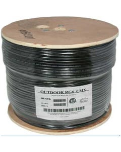 1000ft Direct Burial  Outdoor Dual Shield RG6/U Cable