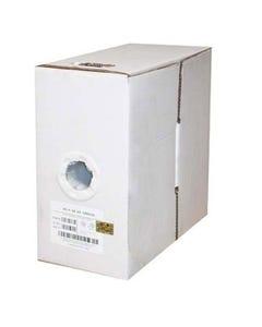 1000ft RG6 Quad Shield Coax Cable CMP White