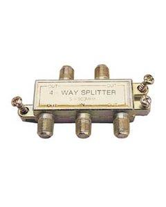 4 Way 5-900MHz Signal Splitter