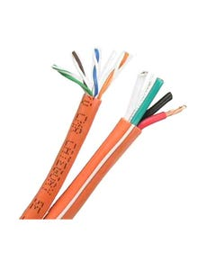 500ft Cat5e+16AWG/4 Audio Combo Cable CMR