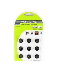 LR44 1.5V Button Cell Battery 9Pack