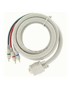 HD15 to 3 RCA Cable RGB Component Video Cable