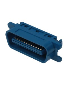 Centronic 24 Male Connector IDC All Plastic Blue