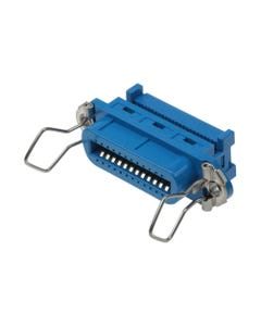 Centronic 24 Female Connector IDC All Plastic Blue