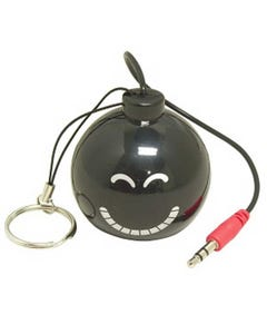 "Mini Rechargeable Bomb Speaker Design ""C"", Smile"