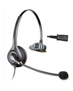 Corded Office Headset/Microphone, RJ22(Handset) Plug, EPHS100