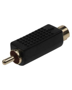 S-Video (VHS) Male to RCA Male Adapter
