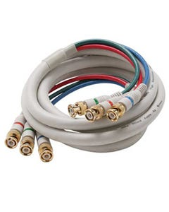 3 BNC to 3 BNC Component Video Cable