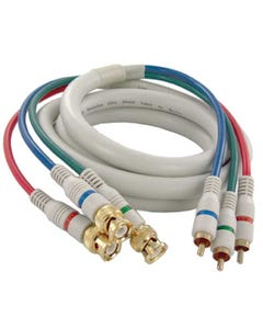 3 BNC to 3 RCA Python HDTV Cable