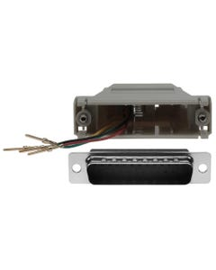 DB25 Male to RJ11 (4 wire) Modular Adapter