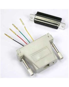 DB25 Female to RJ11 (4 wire) Modular Adapter