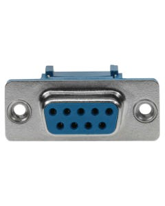 DB9 Female IDC Metal Shell Connector