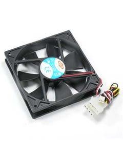 120x120x25mm Cooling Fan Ball Bearing 3-Pin/4-Pin Combo