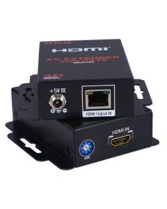 60m FullHD HDMI/HDCP 3D 720p/1080p Single Cat5e/6/RJ45 Extender Kit
