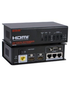 HDMI 3D HDBaseT 5-Play with IR/Serial/Ethernet Single CAT6 100m Active Extender