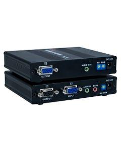 180m VGA/QXGA with Stereo Audio Cat5e/RJ45 Extender Kit